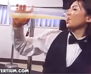Cute Teen Bukkake And Full Glass Of Spunk Swallowing