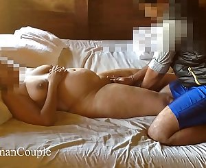 Desi wifey Suman getting nude massage hubby filming [Part 8]